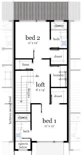 Two Level Floor Plans House Plan 67584 At Familyhomeplans Com