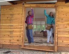 Framing Exterior Door Hometime How To Porches Creating An Entry Door