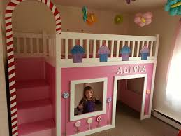 Ana White Pottery Barn Bed Ana White Candyland Cottage Loft Bed Diy Projects