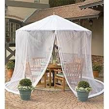 Mosquito Netting For Patio Umbrella Patio Umbrella Mosquito Net By Simple Diy Solutions