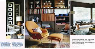 Dwell Armchair Dwell Features Knoll Designs In Mid Century Modern Home Features