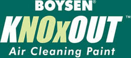 boysen knoxout air cleaning paint colors