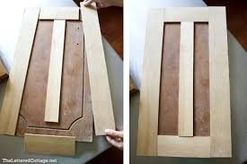 redo kitchen cabinet doors turning plain old kitchen cabinet doors into updated shaker style