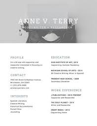 resume modern fonts for logos greyscale photo modern resume templates by canva