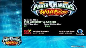 power rangers wild force episode 15 ancient warrior