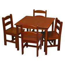dining set kidkraft farmhouse table and chair set collapsible