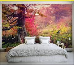 Wall Mural Dense Forests Peel Online Get Cheap Beautiful View Wallpaper Aliexpress Com