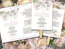 Diy Fan Programs The 25 Best Diy Wedding Fans Ideas On Pinterest Diy Wedding