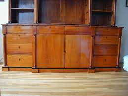 Break Front Bookcase Biedermeier Style Breakfront Bookcase For Sale At 1stdibs