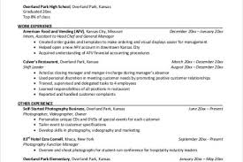 examples of cv for hospitality industry writing and editing services