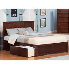 King Platform Bed With Storage Bedroom Platform Storage Bed Frame Monterey Queen Wood Storage