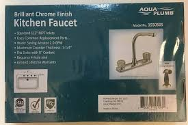 8 Kitchen Faucet by Kitchen Faucet With High Spout And Spray Assembly 8 Inch U2013 M U0026l