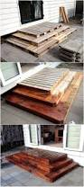 How To Make Pallet Patio Furniture by Best 25 Pallet Patio Decks Ideas On Pinterest Wooden Patios