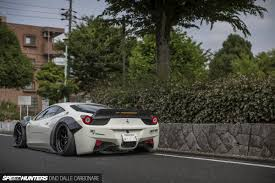 slammed cars iphone wallpaper liberty walk u0026 the 458 challenge speedhunters