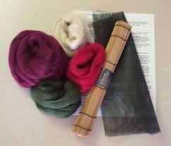 outback fibers features felting kits complete kit for beginners