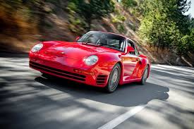 porsche 959 rally car born of speed