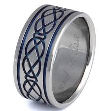 celtic wedding rings titanium celtic wedding rings ck6 titanium rings studio