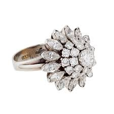 cluster rings a marquise shaped diamond cluster ring buy diamond cluster ring
