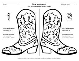 cowboy boot images photo albums symmetry coloring pages