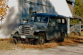 kaiser willys jeep found by the side of the road willys jeep wagon cars in depth