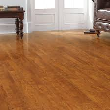 Laminate Flooring In Home Depot Trafficmaster Farmstead Hickory 12 Mm Thick X 6 06 In Wide X