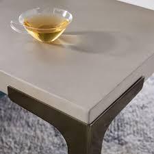 west elm concrete side table brass concrete side table west elm uk