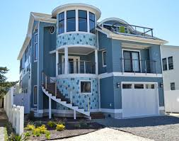 a modern twist in dewey beach garrison homes