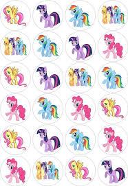 my pony cupcake toppers http i ebayimg t 24 my pony cupcake fairy cake