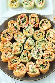 veggie tortilla pinwheels appetizer sofabfood tailgating