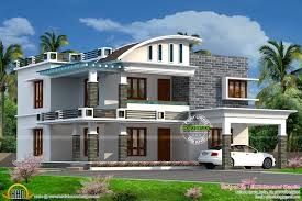 Kerala Home Design Floor Plan Curved Roof Mix House Kerala Home Design Floor Architecture
