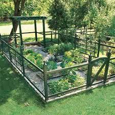 Fence Ideas For Garden Vegetable Garden Fence Ideas Gardening Design