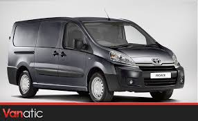 van toyota toyota makes van leasing and contract hire