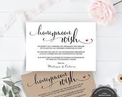 wedding wishes honeymoon honeymoon printable etsy
