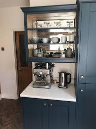 kitchen wall cabinet nottingham marine blue painted shaker kitchen kitchenstori by