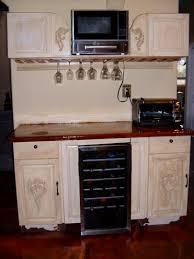 wine glass rack u0026 microwave cabinet as you like it art fraser