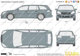 opel vectra caravan 2005 the blueprints com vector drawing opel vectra c caravan