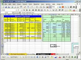 Free Bank Statement Template Excel Bank Reconciliation Bank Reconciliation With Journal Entries Bank
