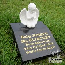 baby headstones memorials ornament angel jpg