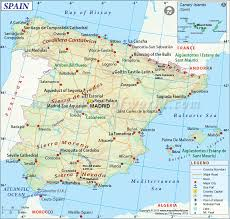 France World Map Spain Map Maps Of Spain 2011 General Reference Navigation And