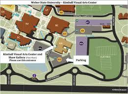 Weber State Campus Map by Weber State University Visual Arts Integration Workshop