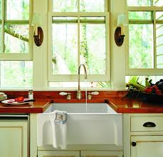 kitchen cabinet sink used introducing a reversible farmhouse sink residential