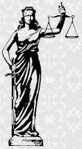 Justice Is Blind Too Saucy Justice Is Blind And Apparently Quite Too
