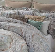 tahari aphrodite 3pc duvet cover set full queen or king cotton