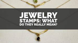 necklace with ring meaning images Jewelry stamps what do they really mean jpg