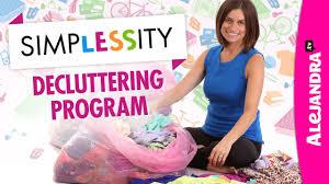 alejandra organization simplessity declutter your home program by alejandra tv youtube