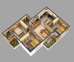 3d home interiors 3d model home interior fully furnished cgtrader