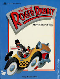 the rabbit book who framed roger rabbit storybook read comic books