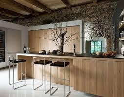 cuisine rustique et moderne cuisine rustique contemporaine 50 idées de meubles en bois