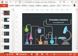 chemistry powerpoint template animated chemistry powerpoint