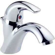 Delta Faucet Guarantee Delta Faucet 583lf Wf C Spout Polished Chrome One Handle Bathroom